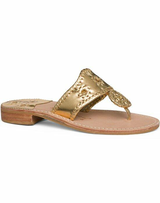 Jack Rogers Classic Sandal-Gold Wedding Shoes photo