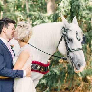 Real Wedding Horse and Carriages