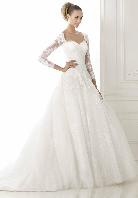PRONOVIAS BOUR Wedding Dress photo