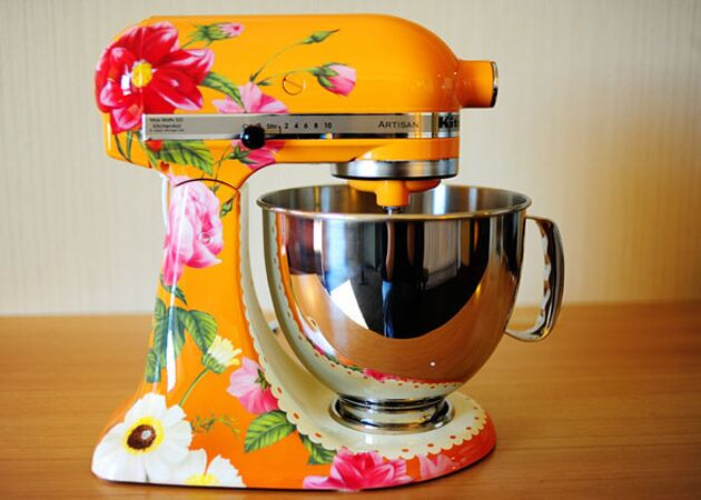 KitchenAid Flower Design