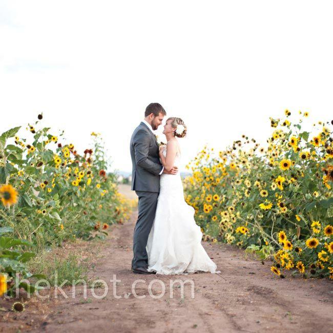 Rustic Outdoor Wedding Ideas: A Rustic Outdoor Wedding In Littleton, CO