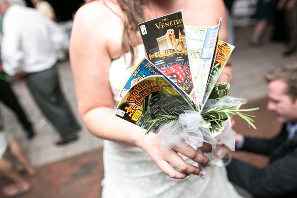 Bridal Bouquet of Magazines