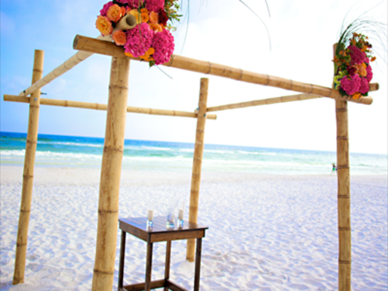 Beach Wedding in Destin