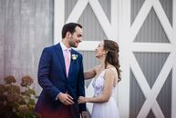 "Katherine Prescott and Vin Vacanti put Vermont's natural beauty on show with a romantic barn wedding in the foothills of the Green Mountains. ""We want"