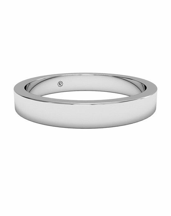Ritani Women's Classic Square-Edge Wedding Band in Platinum Wedding Ring photo
