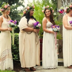 Bohemian Bridesmaid Dresses