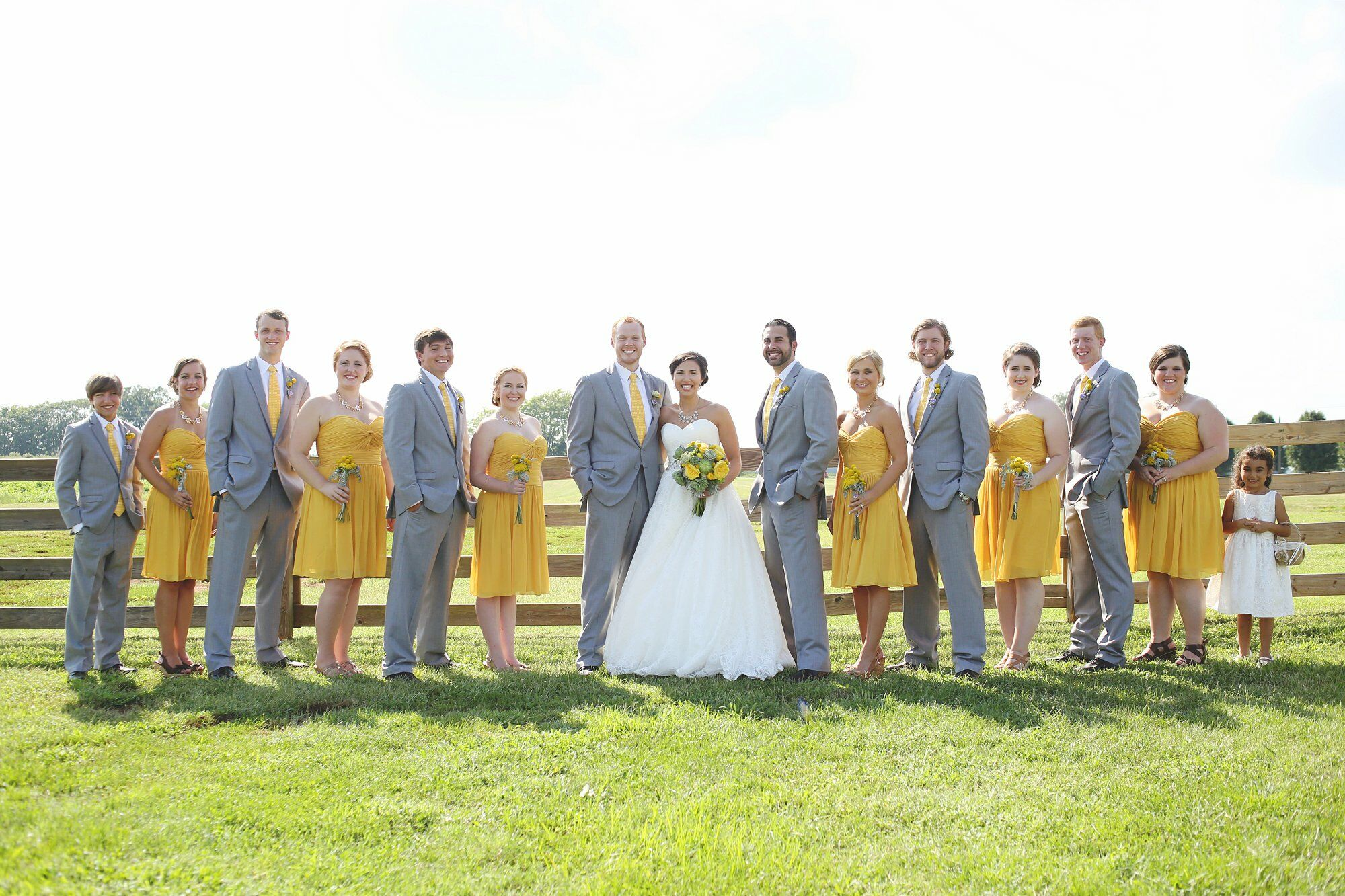 A Canary Yellow Barn Wedding At Tate Farms In Meridianville Alabama