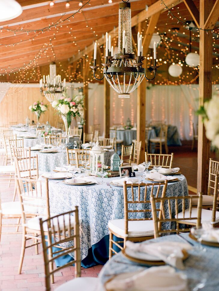 Rustic Elegant Wedding Reception Decor