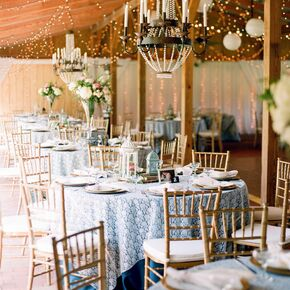 Rustic Elegant Furniture Wedding Reception Decor