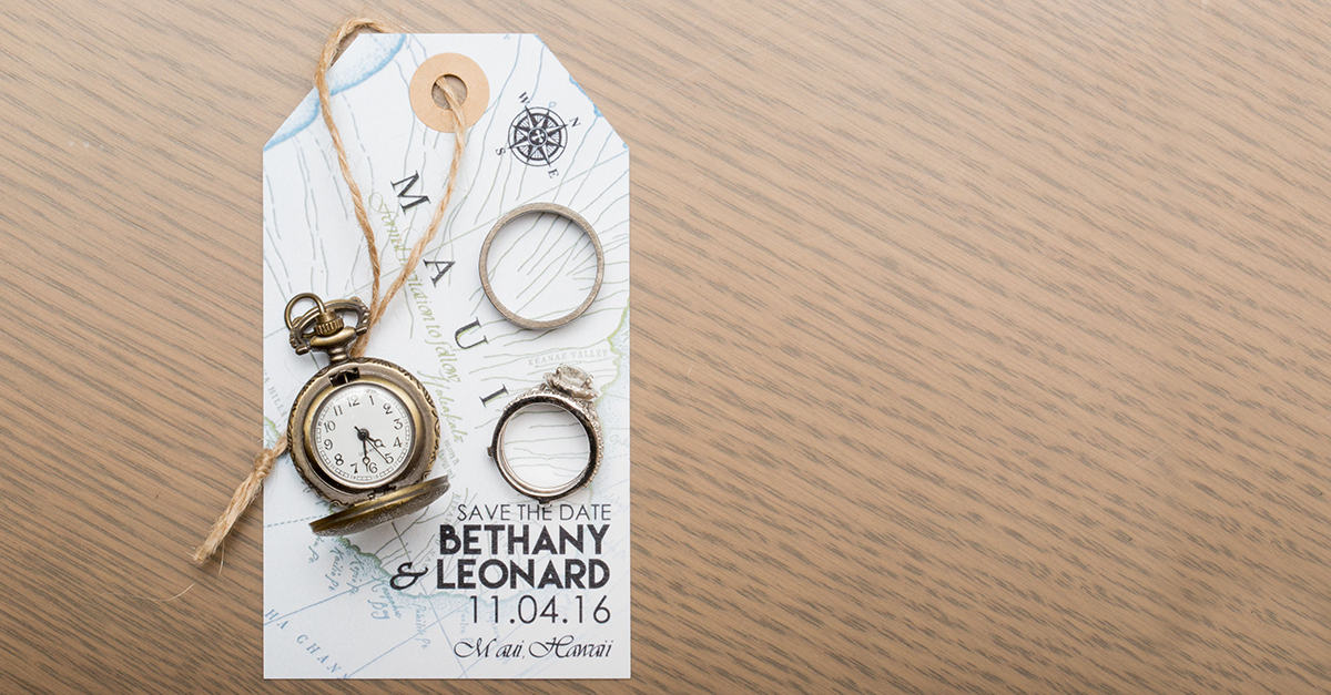 10 Totally Unique Save-the-Date Ideas