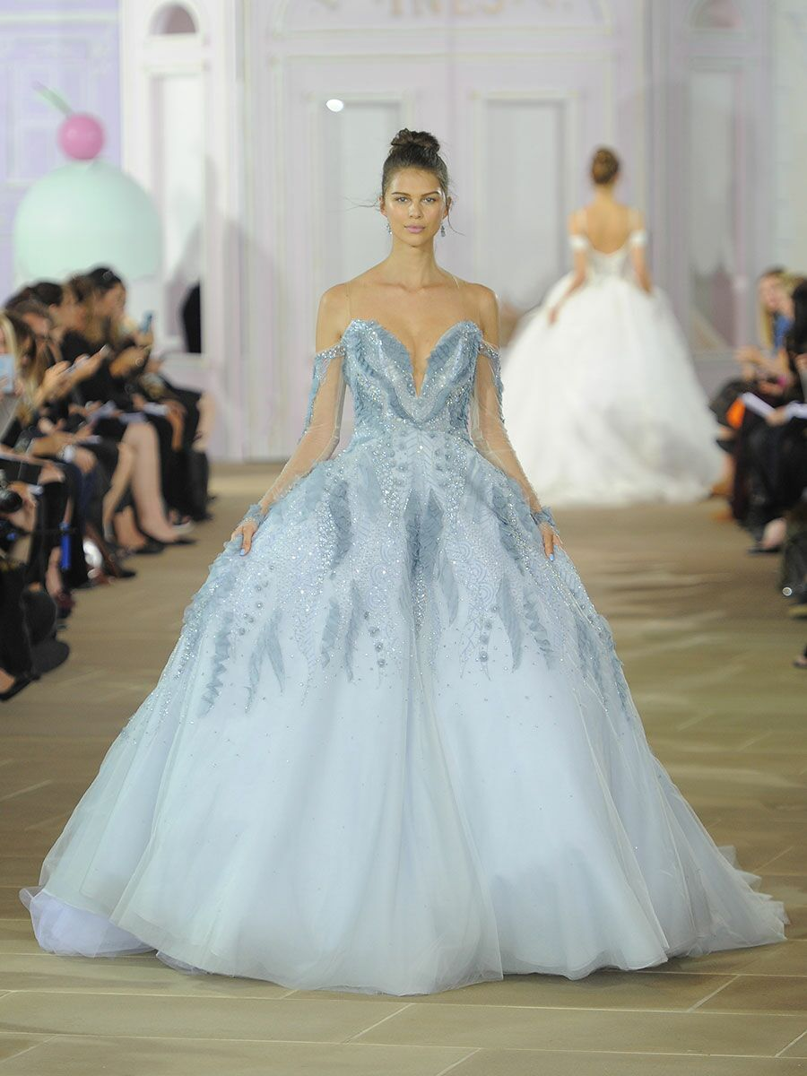 Ines Di Santo Fall/Winter 2017 Collection: Bridal Fashion Week Photos