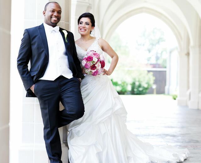A Romantic Garden Wedding In Houston TX