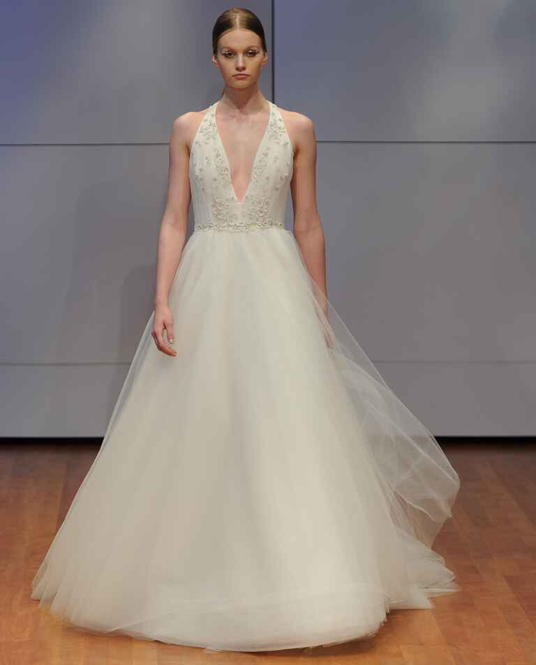 Rivini Lace Tiered Wedding Gown