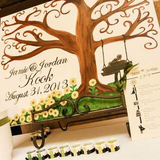 DIY Wedding Guest Books