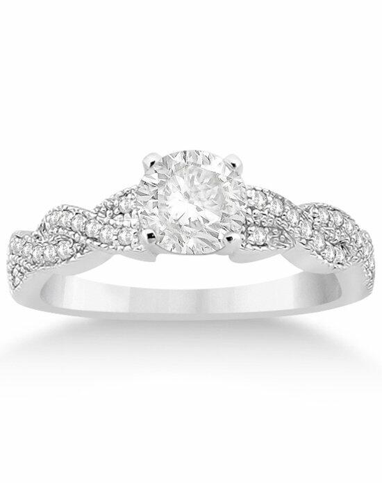 Allurez - Customized Rings U4192 Engagement Ring photo
