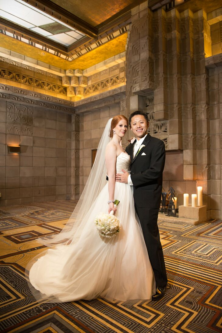 An Art Deco and Traditional Chinese Wedding at the Arizona Biltmore ...