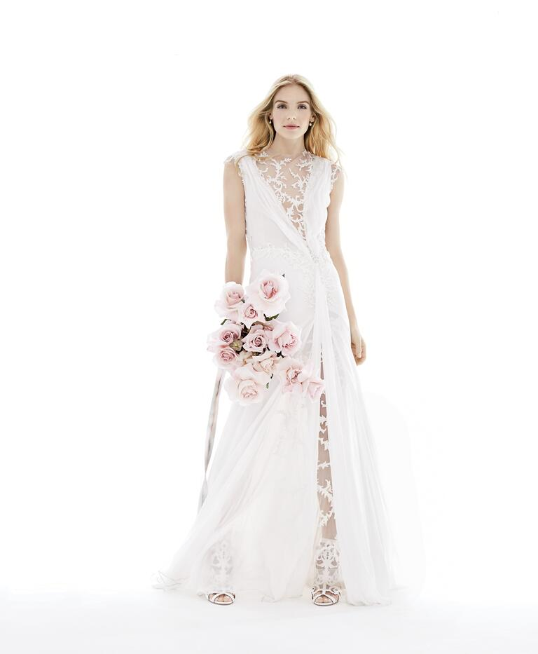 Lingerie-inspired Ines Di Santo wedding dress