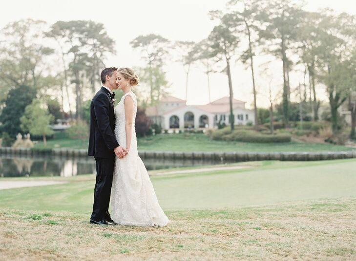 A Glam Great Gatsby Inspired Wedding at the Cavalier Golf & Yacht ...