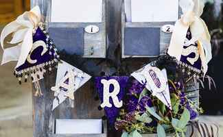 Wedding reception card box | Carleton Churchill Photography | blog.TheKnot.com
