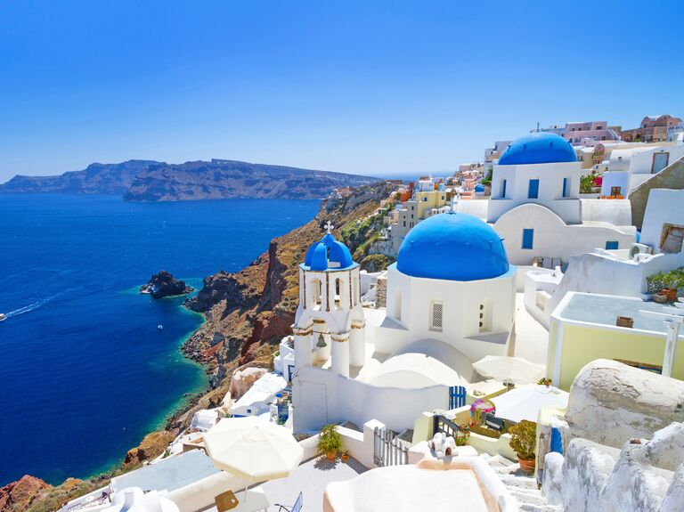 Romantic Honeymoon Destination Santorini Greece