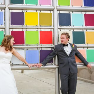 A Colorful Fall Wedding in Indianapolis