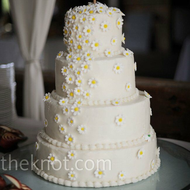 daisy wedding cakes pictures sugar cake 13315