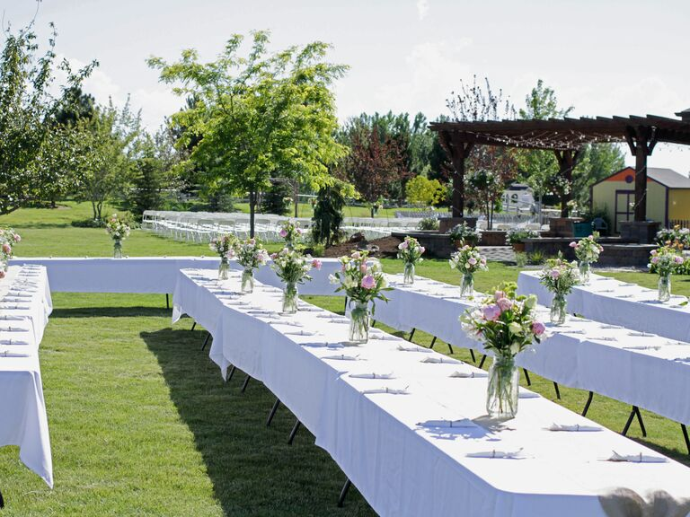 At-Home Wedding Reception Planning Secrets