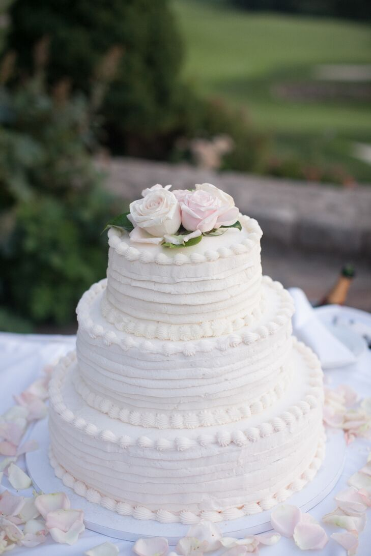 the knot kc wedding cakes a classic blush and ivory wedding at shadow glen golf club 20854