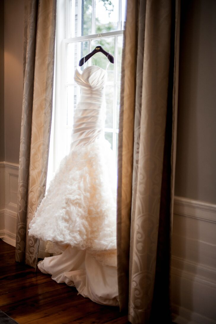 Custom Trumpet Style Wedding Dress In Atlanta Georgia