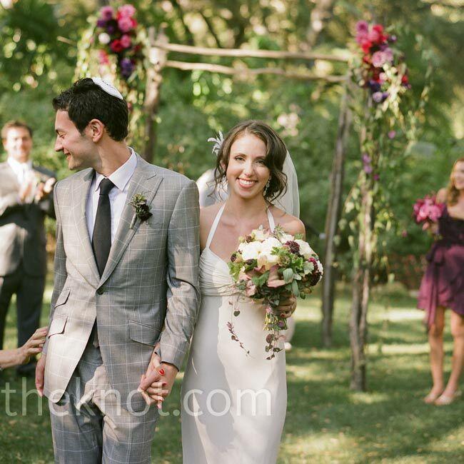 A Rustic Courtyard Wedding In Montecito, CA