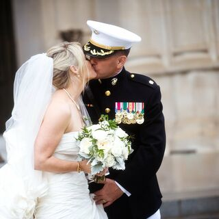 Real Military Wedding Dresses