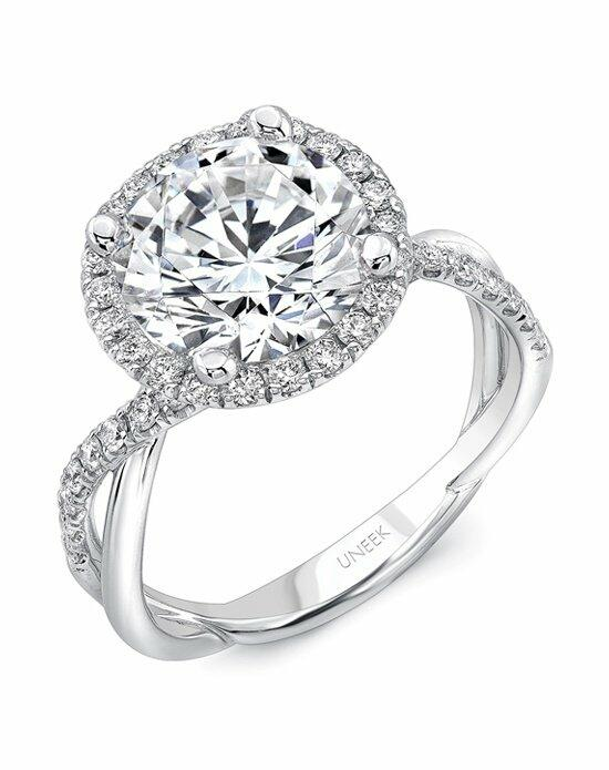 Uneek Fine Jewelry SM817RD-9.0RD Engagement Ring photo