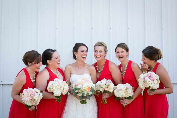 Ann taylor loft red bridesmaid dresses for The loft dresses for a wedding