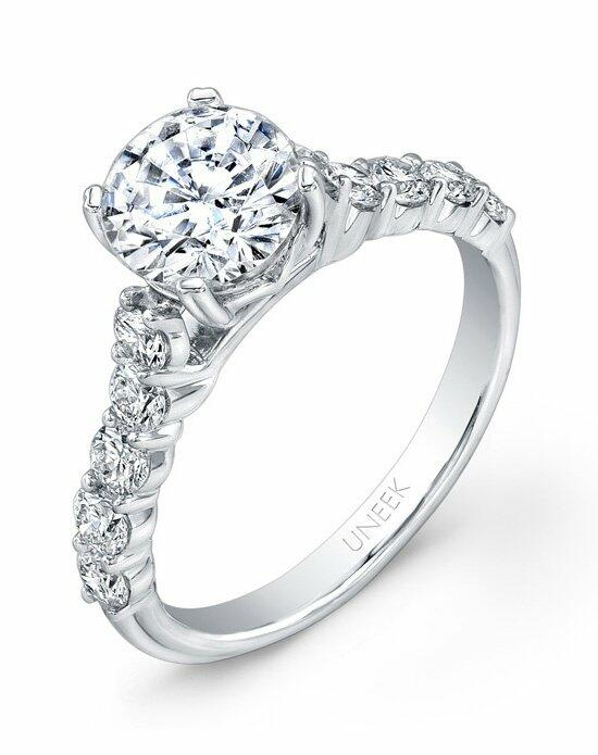 Uneek Fine Jewelry USM01M-6.5RD Engagement Ring photo