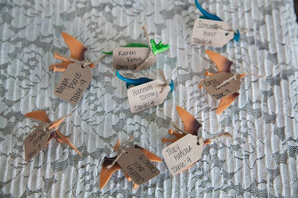 Casual Dinosaur Escort Cards