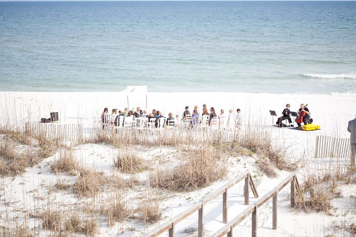A Colorful Beach Wedding At A Private Residence In Pensacola Beach Florida