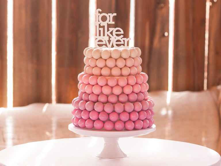 cake pop wedding dessert