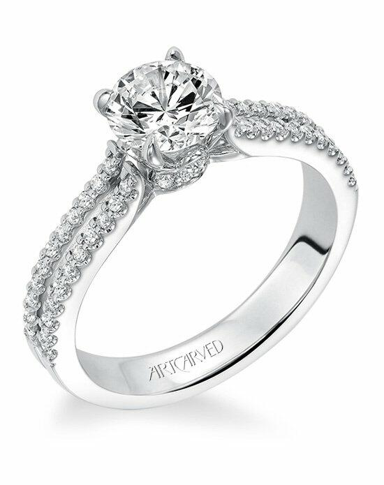 ArtCarved 31-V572ERW-E Engagement Ring photo