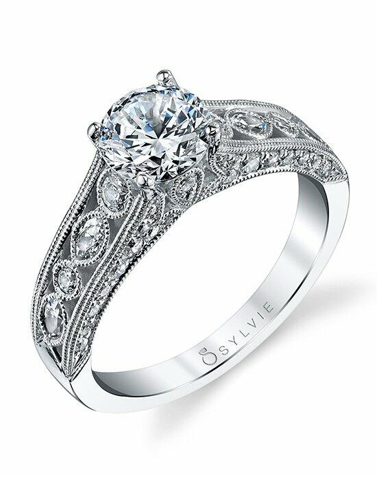 Sylvie Collection S1202 Engagement Ring photo