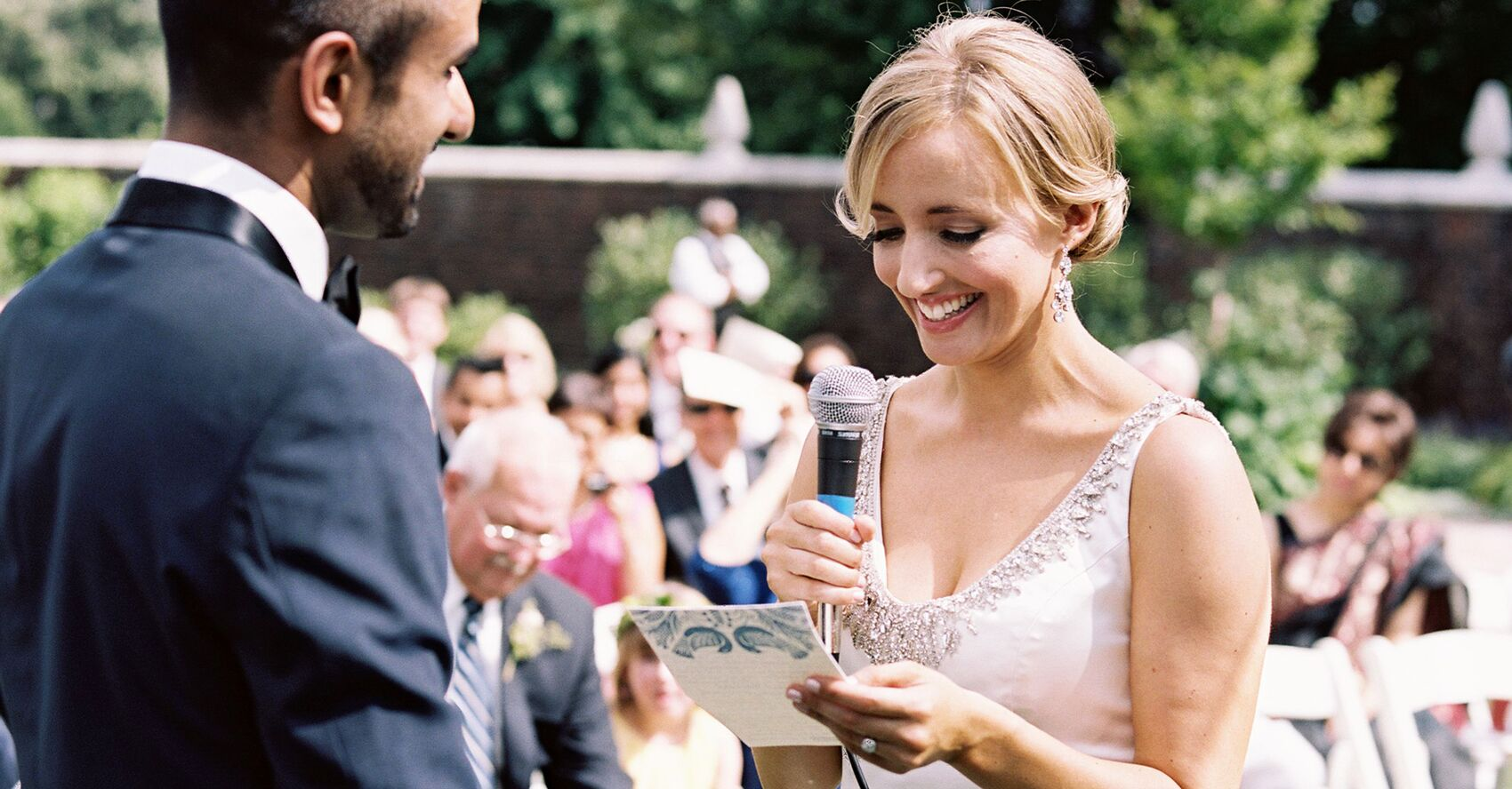 Writing Your Own Wedding Ceremony Vows? Read These Tips First