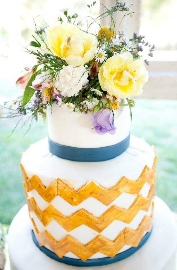 Fresh flower cake topper izmirmasajfo