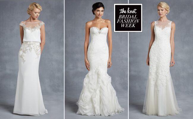 Enzoani Blue Wedding Dresses Fall 2015: Bridal