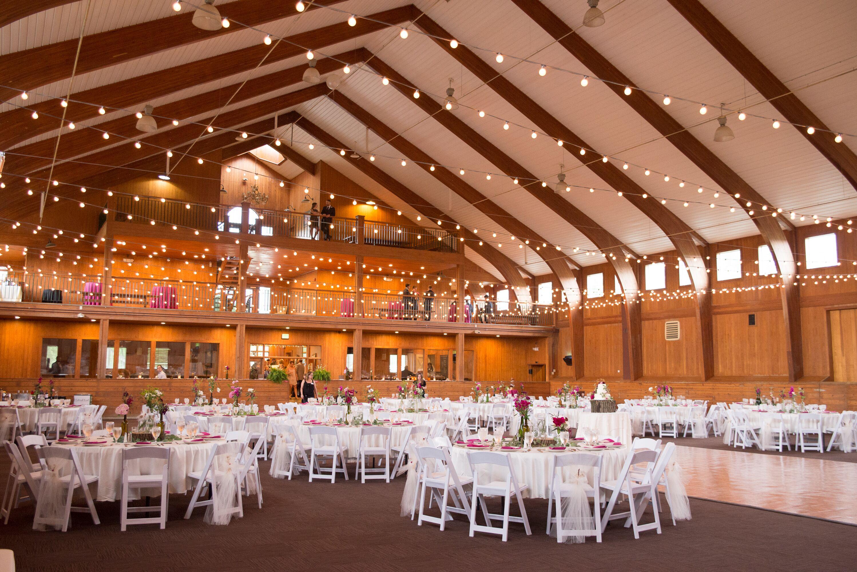 Irongate Equestrian Center Barn Reception Setup