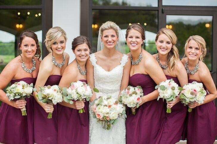 eff1a4f7c54 Berry J.Crew Bridesmaid Dresses