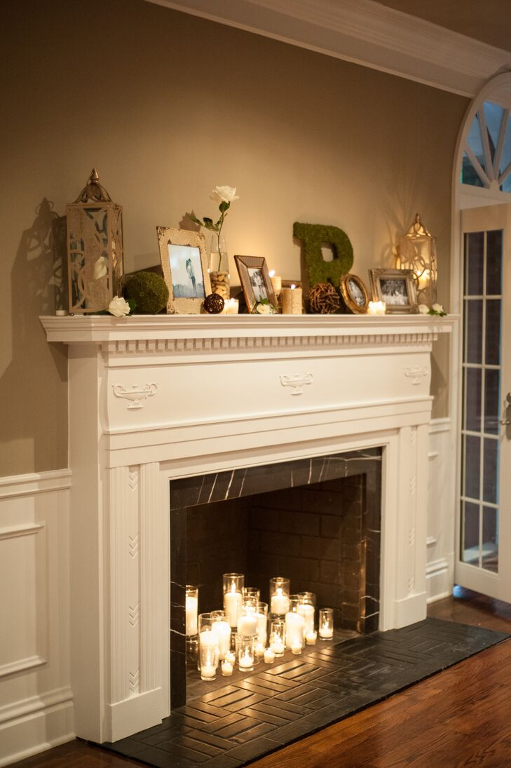 a glamorous at home wedding at a private residence in clayton