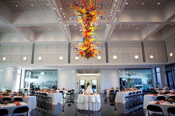 A Modern Wedding Reception At Wichita Art Museum
