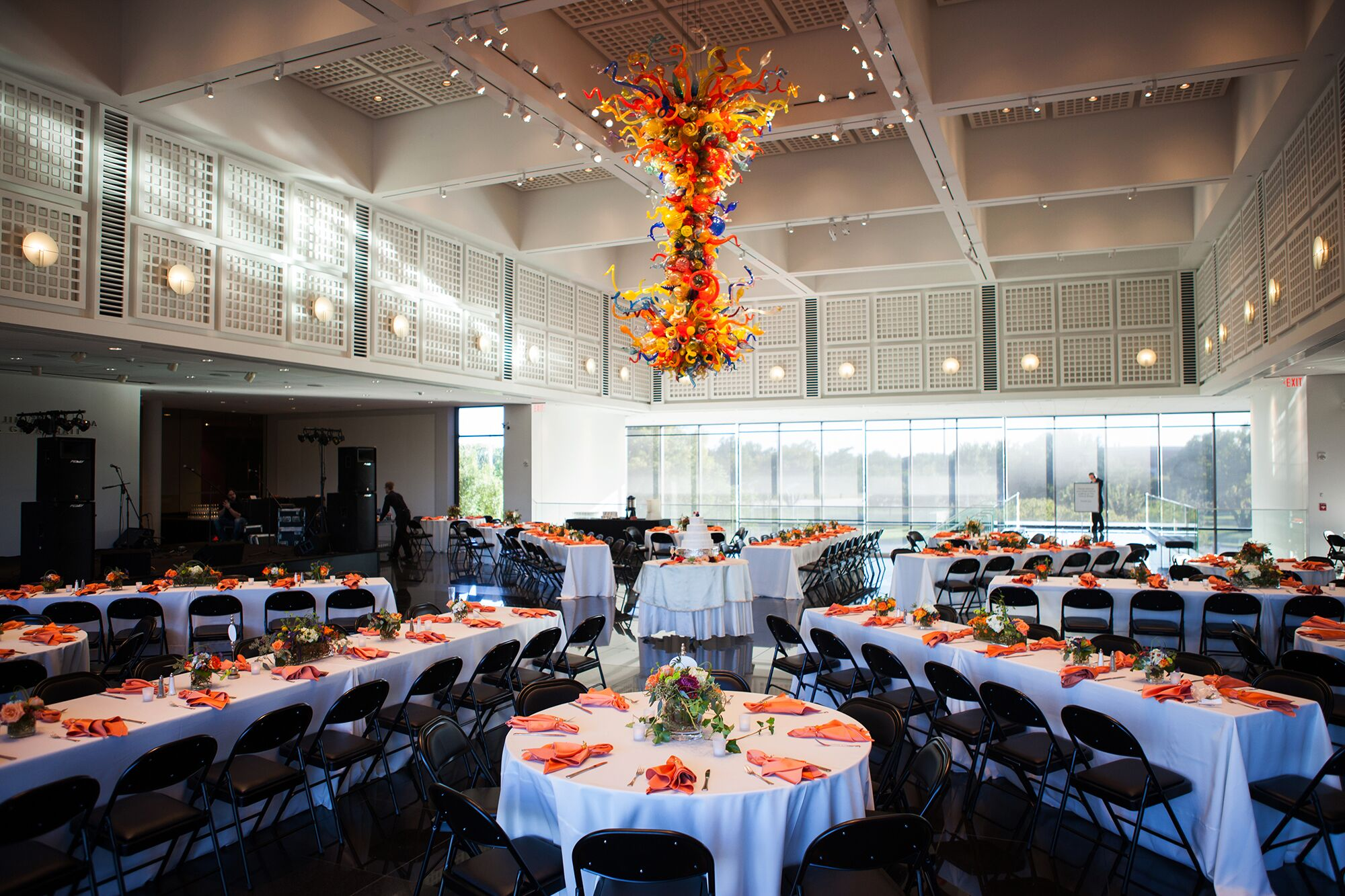 Wichita Art Museum Wedding Reception
