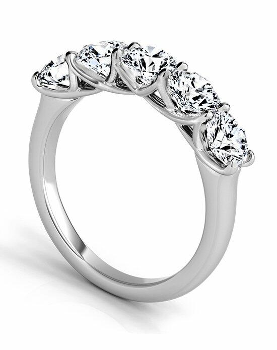 Platinum Must Haves Sasha Primak 5 Stone Platinum Wedding Band Wedding Ring photo