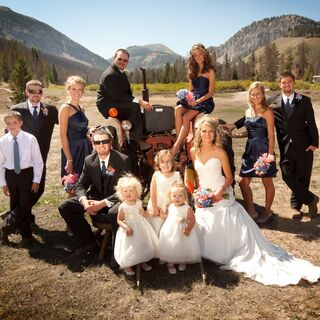 A Rustic Wedding in Big Piney