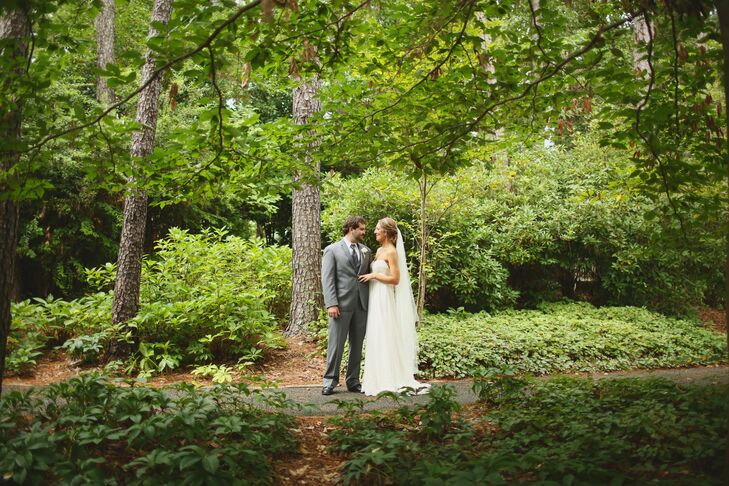 An Elegant Outdoor Wedding At Aldridge Gardens In Birmingham Alabama